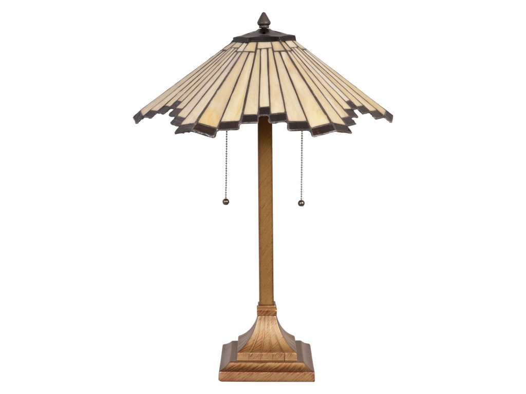 Stolní lampa Tiffany - pr.45*64 cm 2x E27 / Max 60W