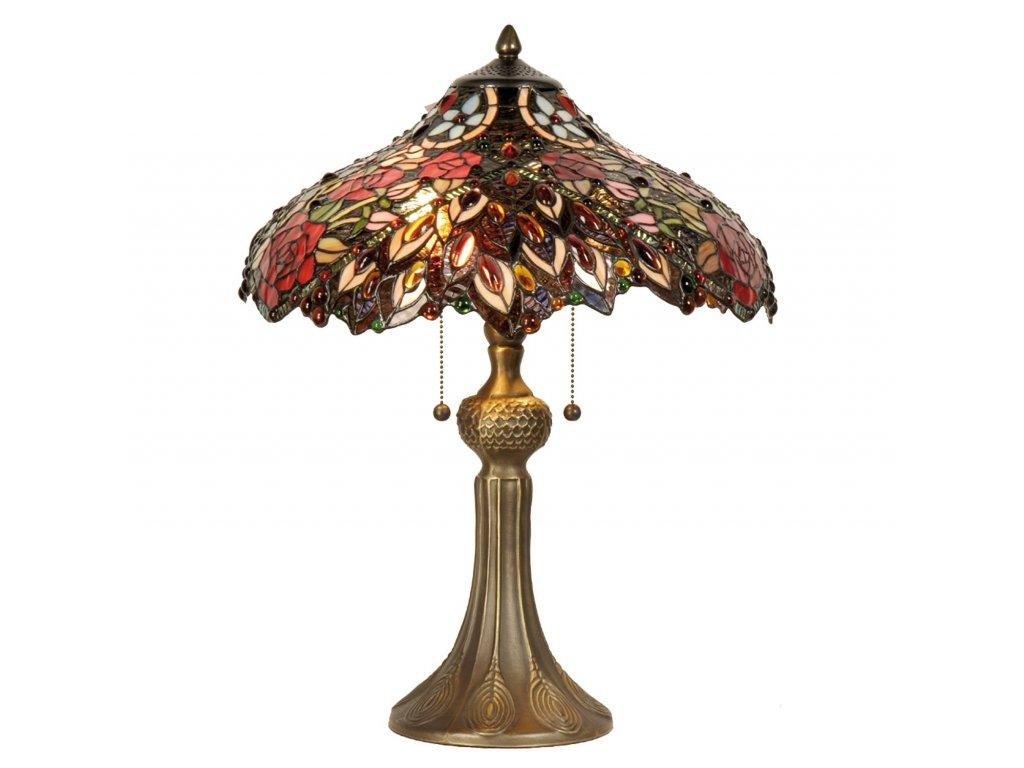 Stolní lampa Tiffany - Ø 43*58 cm 2x E27 / Max 60W