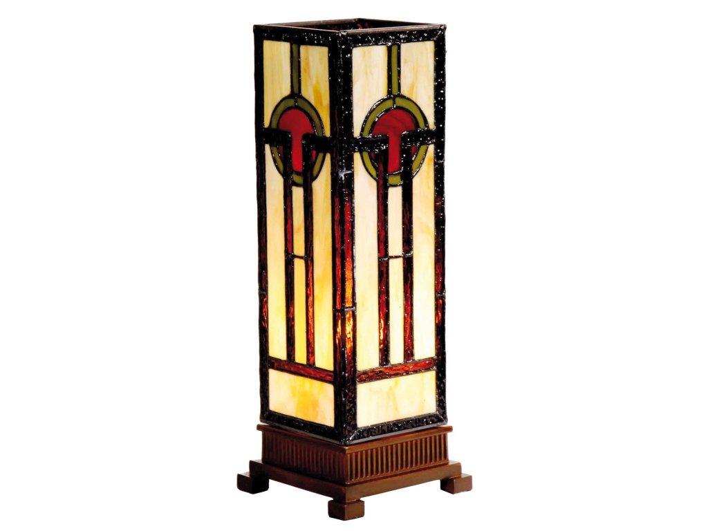 Stolní lampa Tiffany-12.5*35 cm 1x E14 max 40w