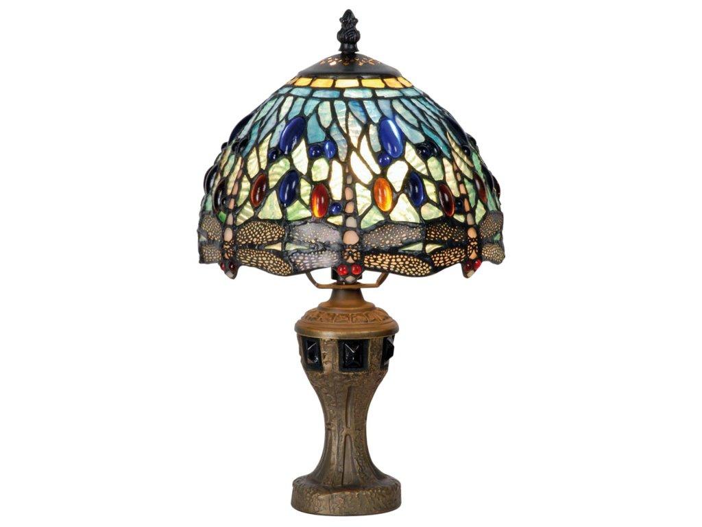 Stolní lampa Tiffany - Ø 21*33 cm 1x E14 / Max 40W