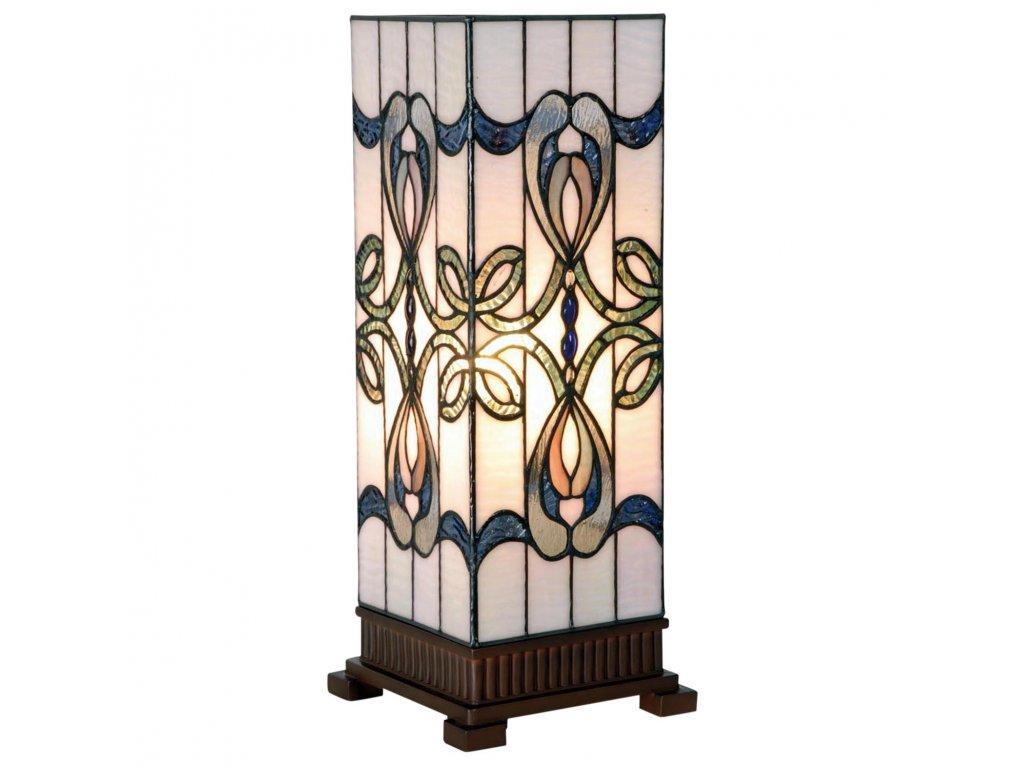 Stolní lampa Tiffany-  18*45 cm 1x E27 max 60w