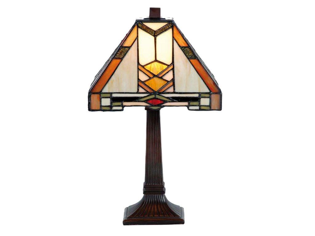Stolní lampa Tiffany-  22*22*38 cm 1x E14 max 40w.