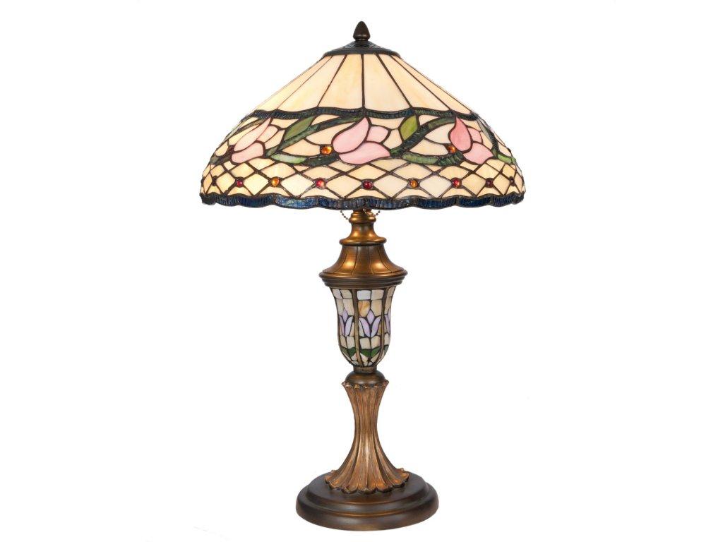 Stolní lampa Tiffany - Ø 40*60 cm E27/max 2*60W