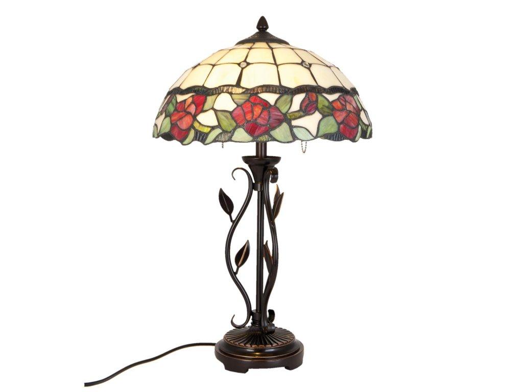 Stolní lampa Tiffany - 35 cm 2x E27/60W