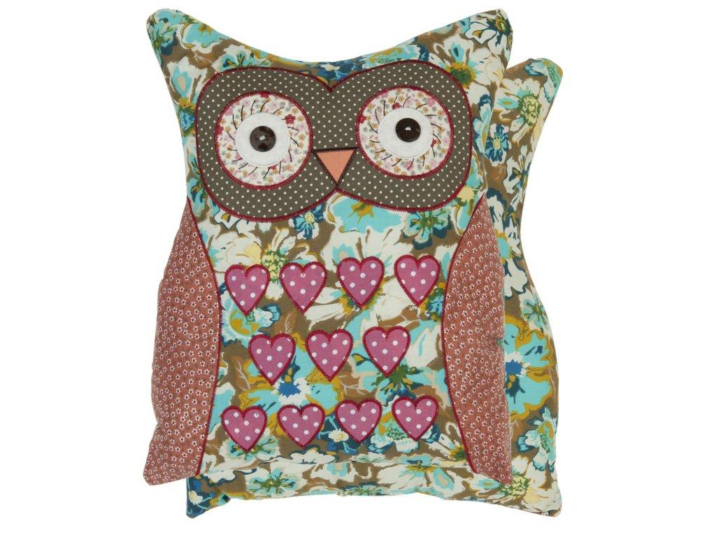 Polštář s výplní  35*40 cm - Funny Owls