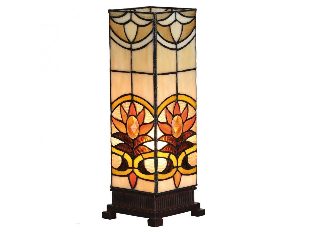 Stolní lampa Tiffany -  12*35 cm E14/max 1*40W