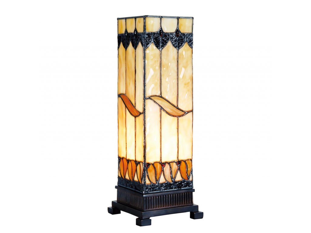 Stolní lampa Tiffany- 12.5*35 cm 1x E14 max 40w
