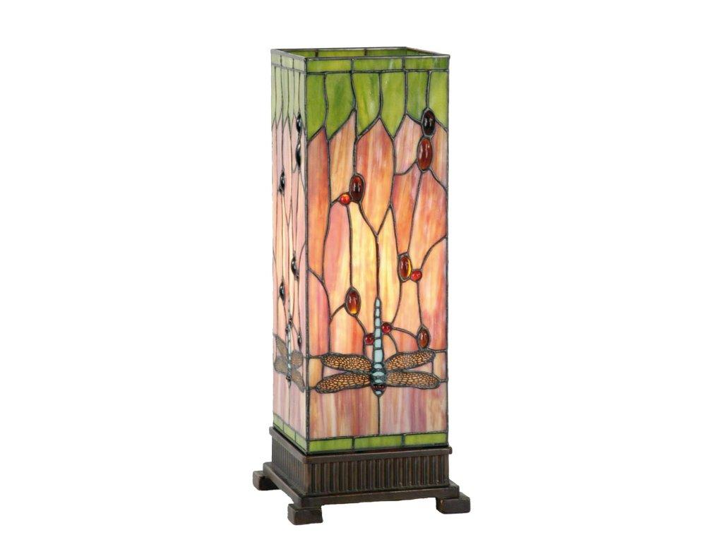 Stolní lampa Tiffany - 12.5*35 cm 1x E27 / Max 40W