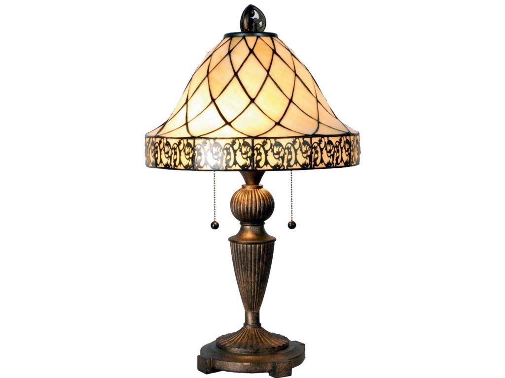 Stolní lampa Tiffany -  Ø 36*62 cm 2x E27 / Max 60W