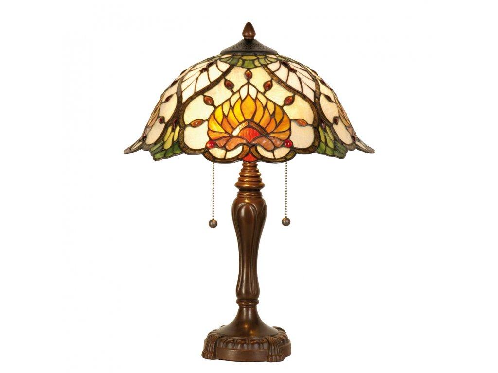 Stolní lampa Tiffany -  Ø 40*50 cm 2x E27 / Max 60W