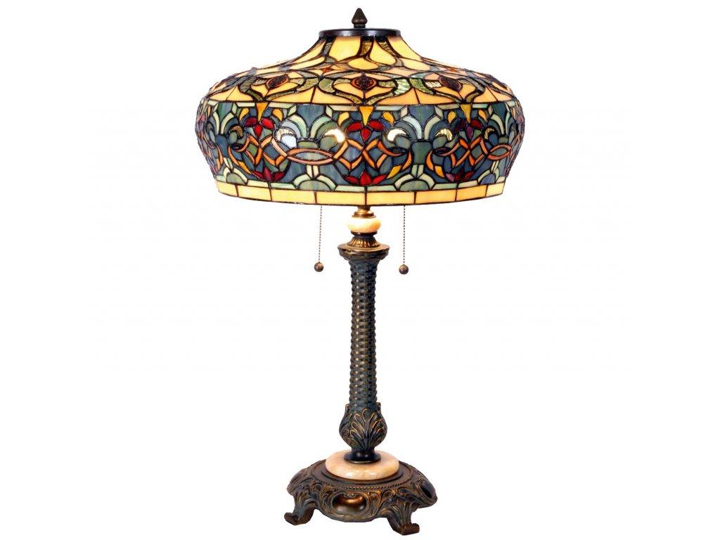 Stolní lampa Tiffany - Ø 46*65 cm 2x E27 / max 60w