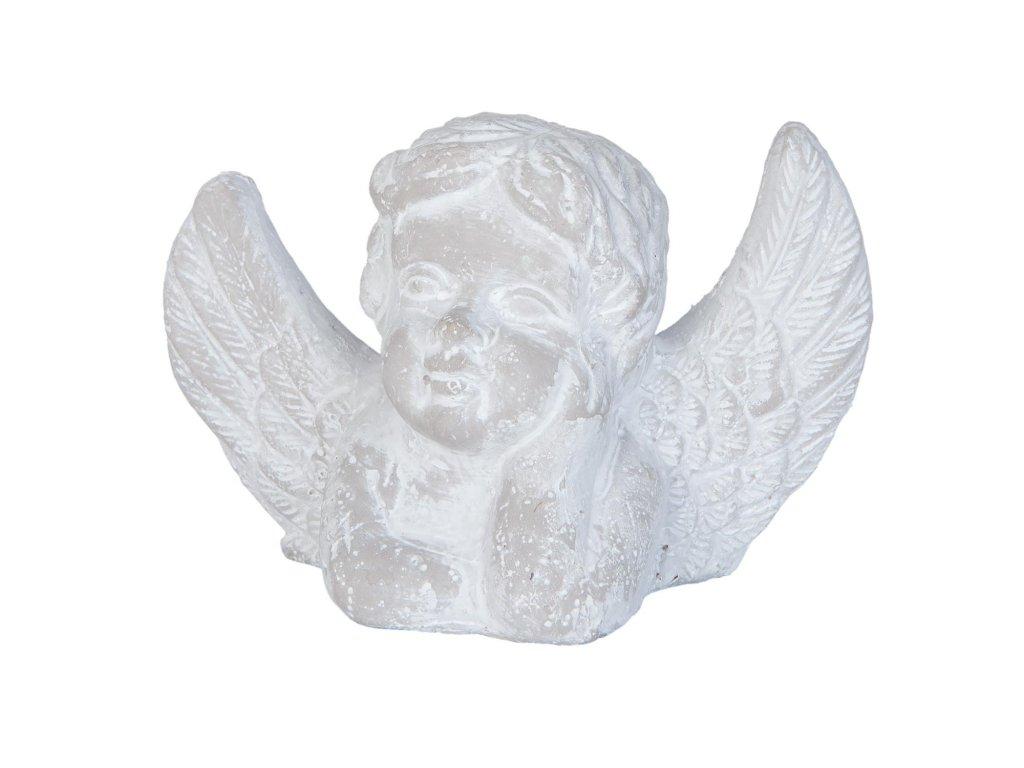 Dekorace anděl 16*7*10 cm