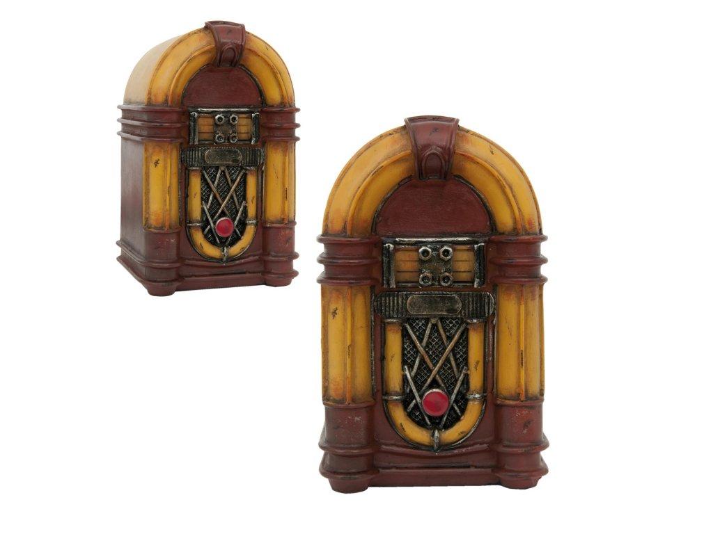 Stolní  lampa retro - 12*10*19 cm led