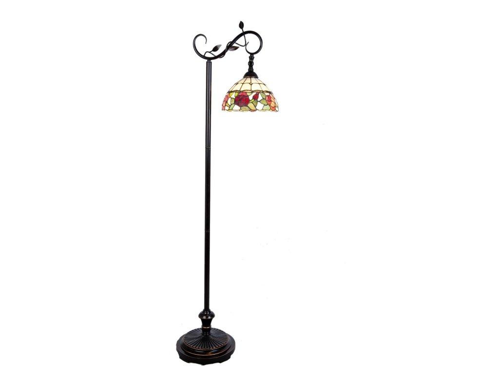 Stojací  lampa Tiffany -  40*27*152 cm E27/60w