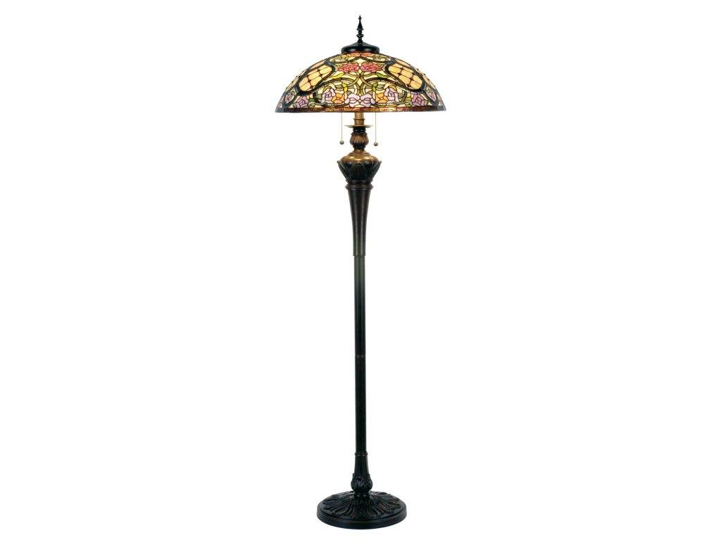 Stojací  lampa Tiffany - pr.55*150 cm 3x E27 / Max 60W