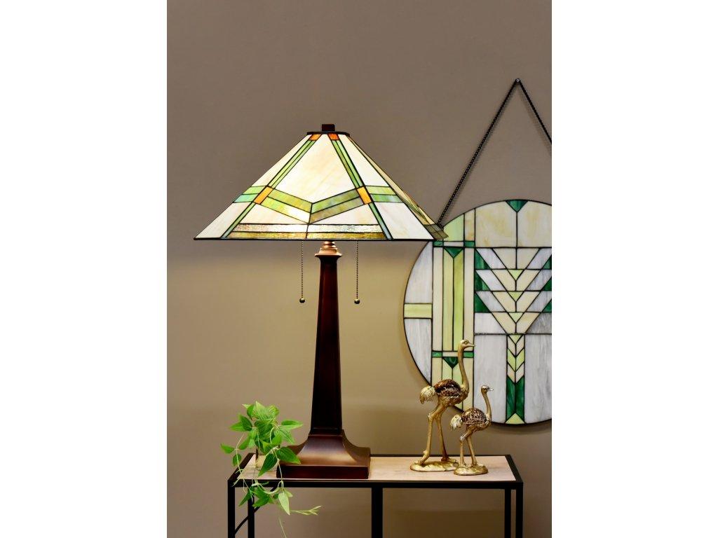 Stolní lampa Tiffany -  50*50*75 cm / E27/60W