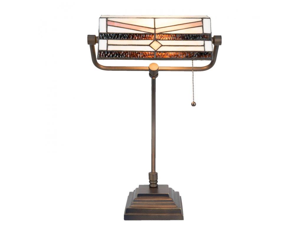 Stolní lampa Tiffany - 31*30*52 cm / E27 / Max. 1x60