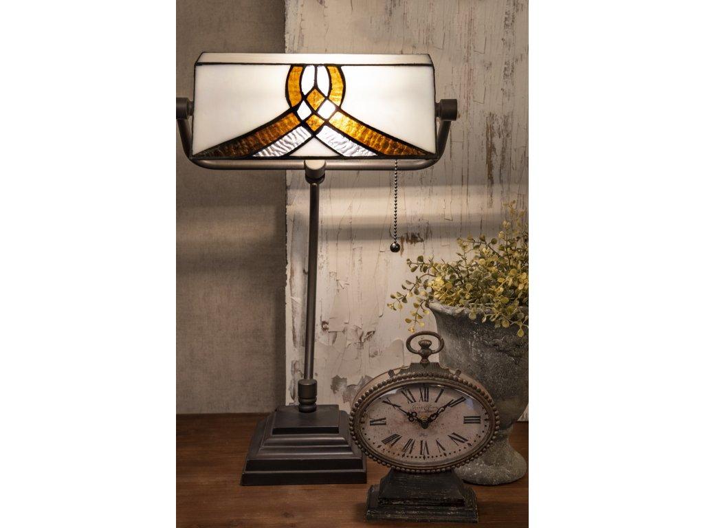 Stolní lampa Tiffany 30*51 cm 1 x E27/ 60w