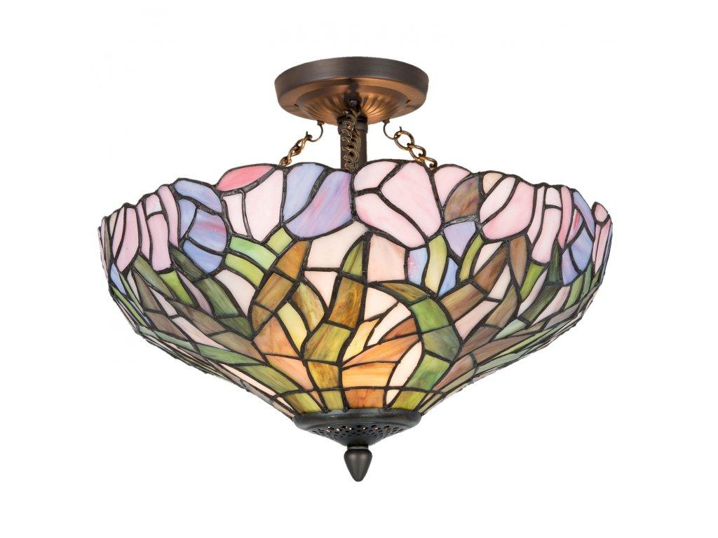 Závěsné světlo Tiffany Ø 41*33 cm 2x E27 max 60w