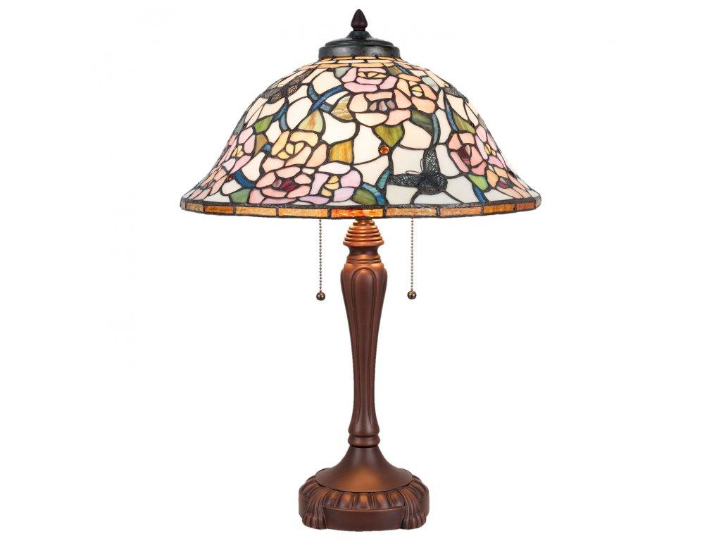 Stolní lampa Tiffany  46*65 cm 3x E27/60W
