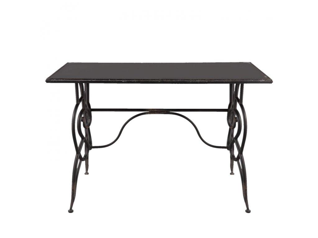 Kovový stůl LOUISA  - 123*61*80 cm