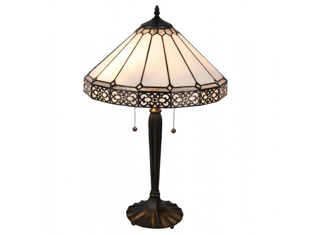 Stolní lampa Tiffany - Ø 41*62 cm / E27 / Max. 2x60W