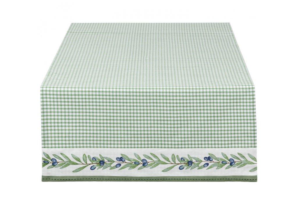 Ubrus Olive Garden - 50*140 cm