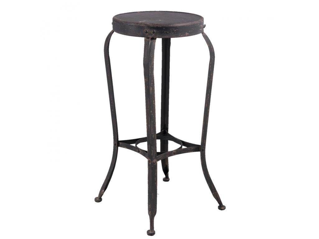 Kovová  stolička - 37*37*72 cm