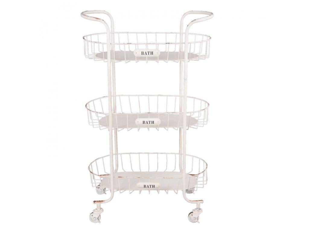 Koupelnový vozík - 56*35*90 cm