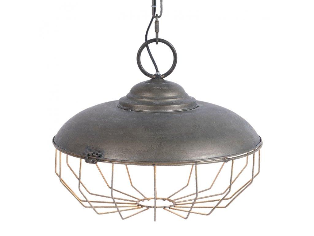 Industriální závěsné světlo  - Ø 37*32 cm / E27 / Max. 1x40