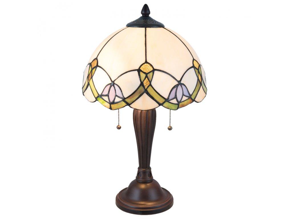 Stolní lampa TIFFANY - Ø 30*50 cm / E27/max 2*40W