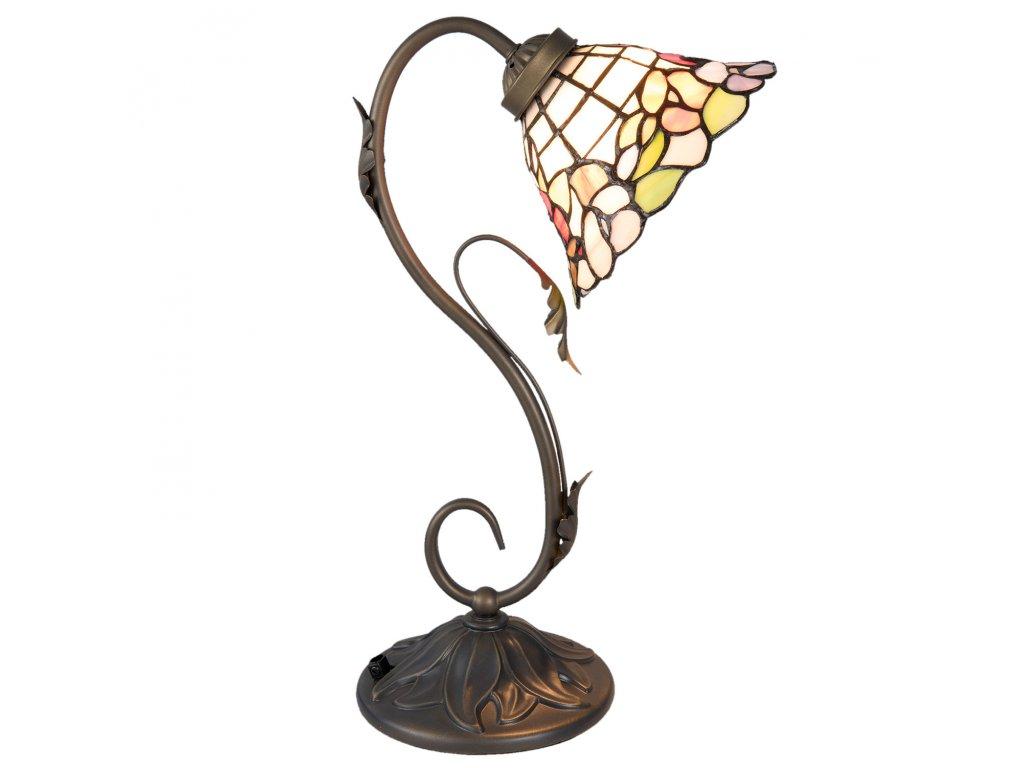 Stolní lampa TIFFANY - 32*20*48 cm / E27/max 1*60W