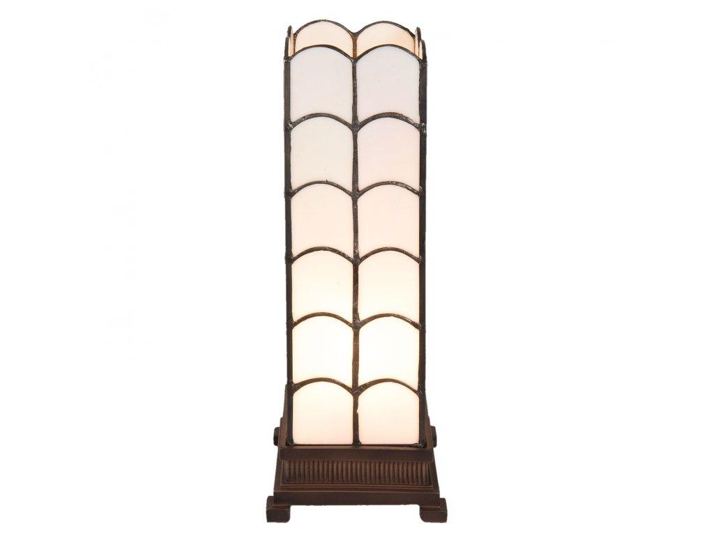 Stolní lampa TIFFANY Georgia - 14*14*36 cm / E14/max 1*25W