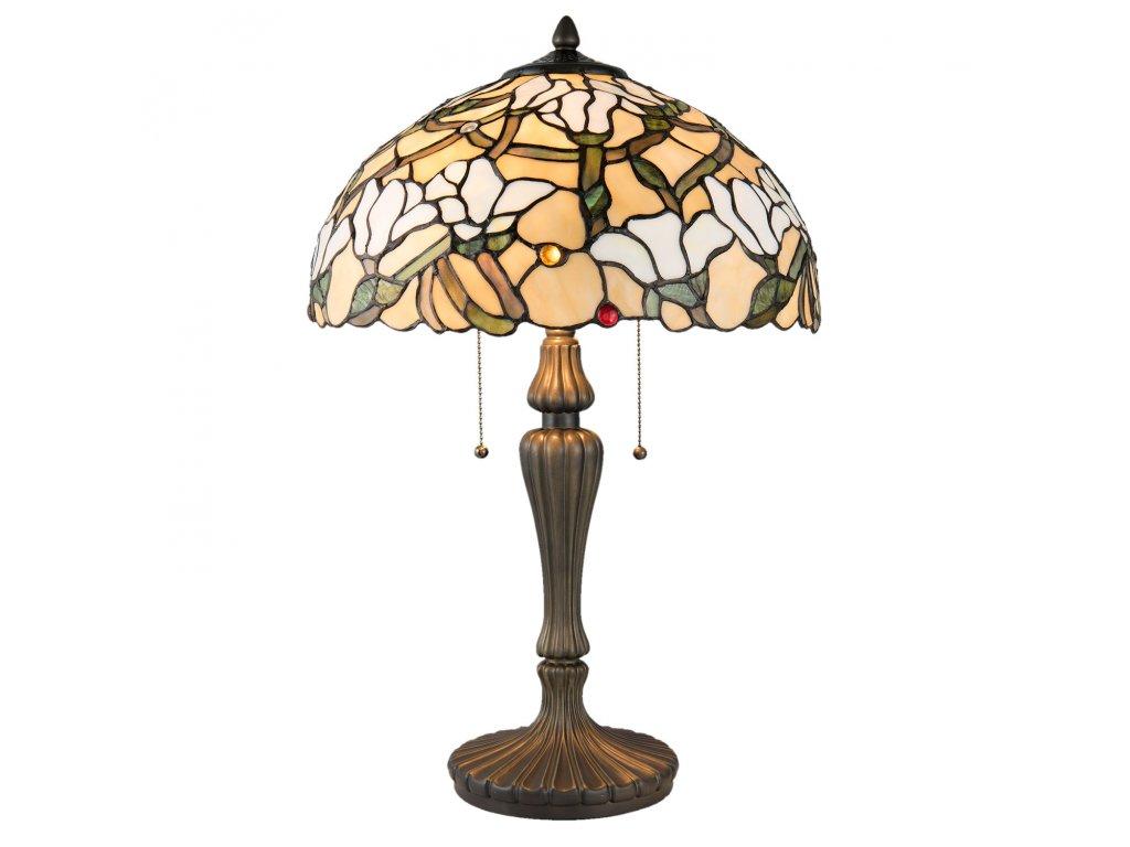 Stolní lampa TIFFANY - Ø 40*60 cm 2x E27 max 60W
