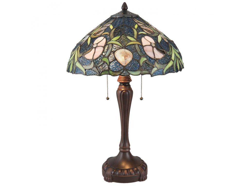 Stolní lampa TIFFANY - Ø 40*62 cm / E27/max 2* 60W