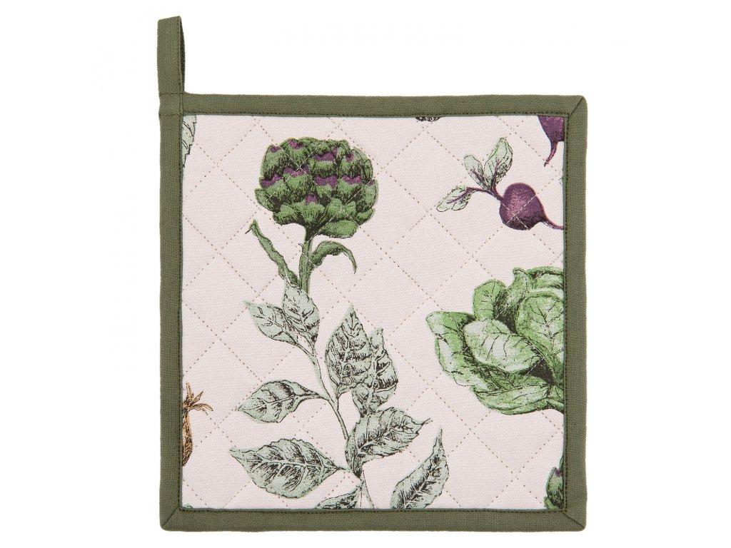 Chňapka The Kitchen Garden - 20*20 cm