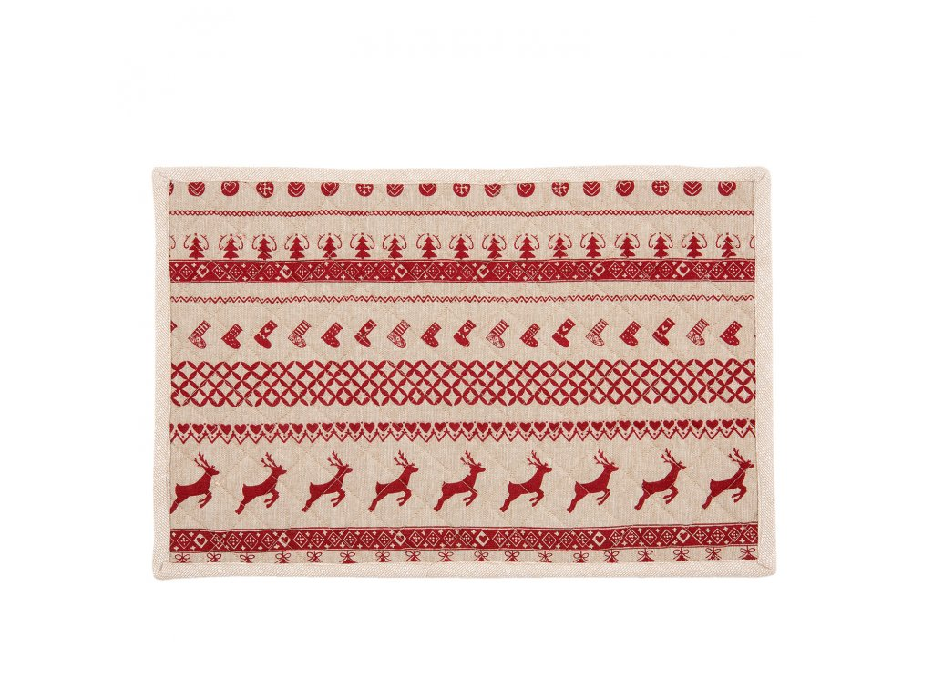 Textilní prostírání  NORDIC CHRISTMAS (6) - 48*33 cm