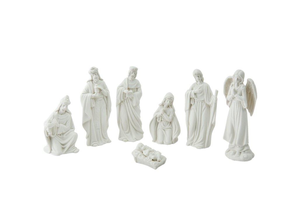 Betlém - figurky (7) - 6*4*15 / 6*6*10 / 5*3*3 cm