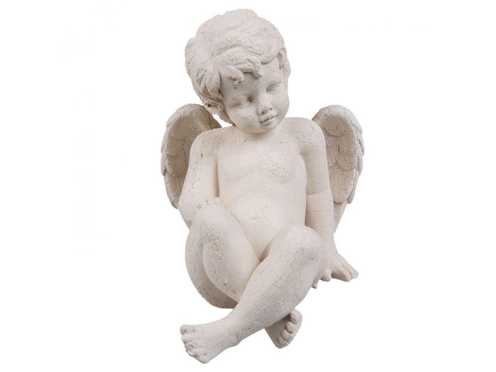 Anděl - 13*17*15 cm