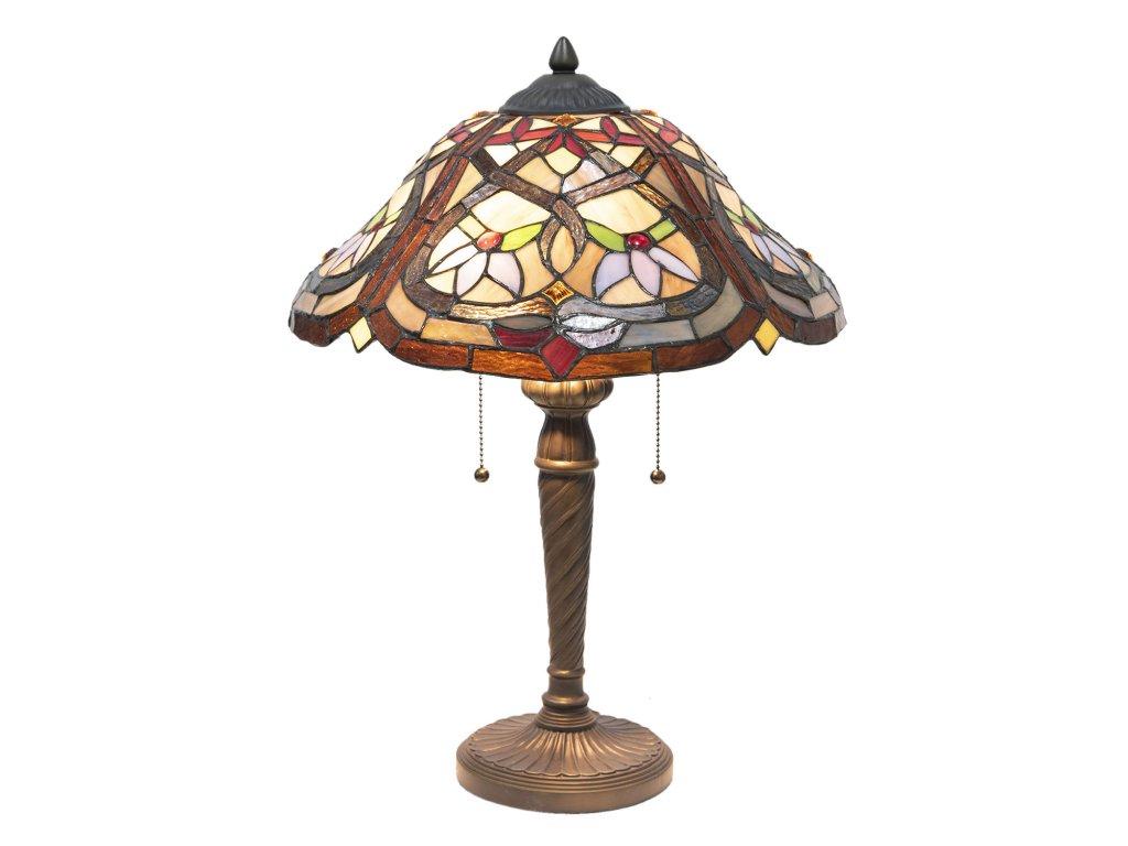 Stolní lampa Tiffany - Ø 40*54 cm E27/2*60W