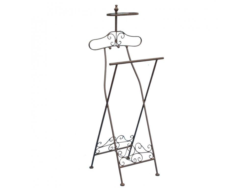 Němý sluha / stojan na oblečení - 46*41*121 cm
