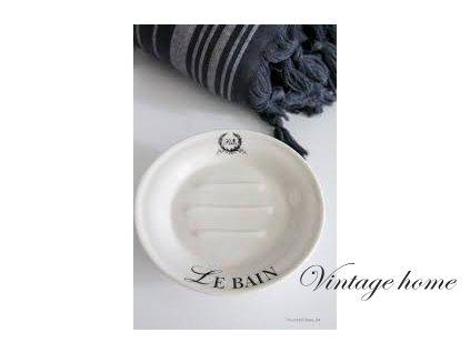 """Mýdelník """"Le Bain""""-pr.14*5 cm"""