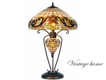 Stolní lampa Tiffany - Ø 46*76 cm 2x E27 / Max 60W & 1x E14