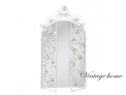 Zrcadlo s květinovým dekorem - 43 * 75 cm