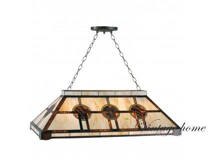 Závěsné svítidlo Tiffany - 92*47*126 cm 3x E27 / 60W