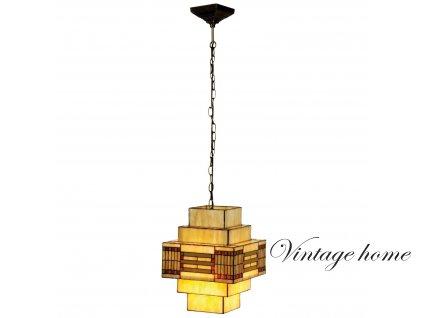 Závěsné svítidlo Tiffany Art deco - 144 * pr 30 cm /1x E27 max. 60w