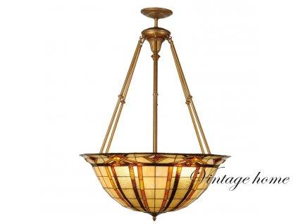 Závěsné svítidlo Tiffany - Ø 92*126 cm 6x E27 / Max 60W