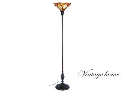 Stojací lampa Tiffany - pr.36*175 cm 1x E27 / Max 60W