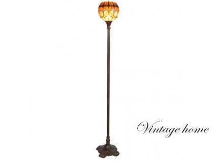 Stojací  lampa Tiffany - Ø 27*184 cm 1x E27