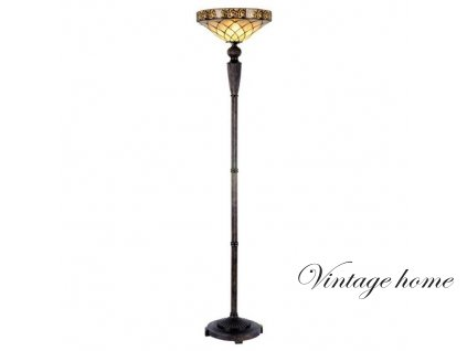 Stojací  lampa Tiffany -pr.41*179 cm 1x E27 / max 60w